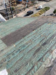 台風屋根修理 施工後2