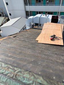 台風屋根修理 施工後3