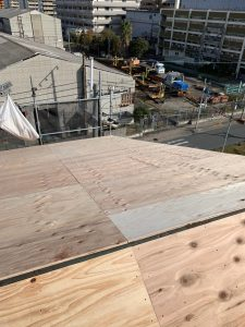 台風屋根修理 施工後5