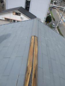 台風被害 施工写真②