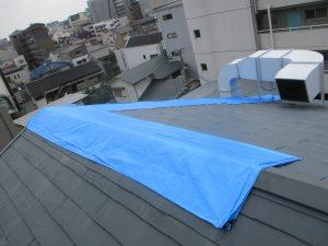 台風被害 施工写真④